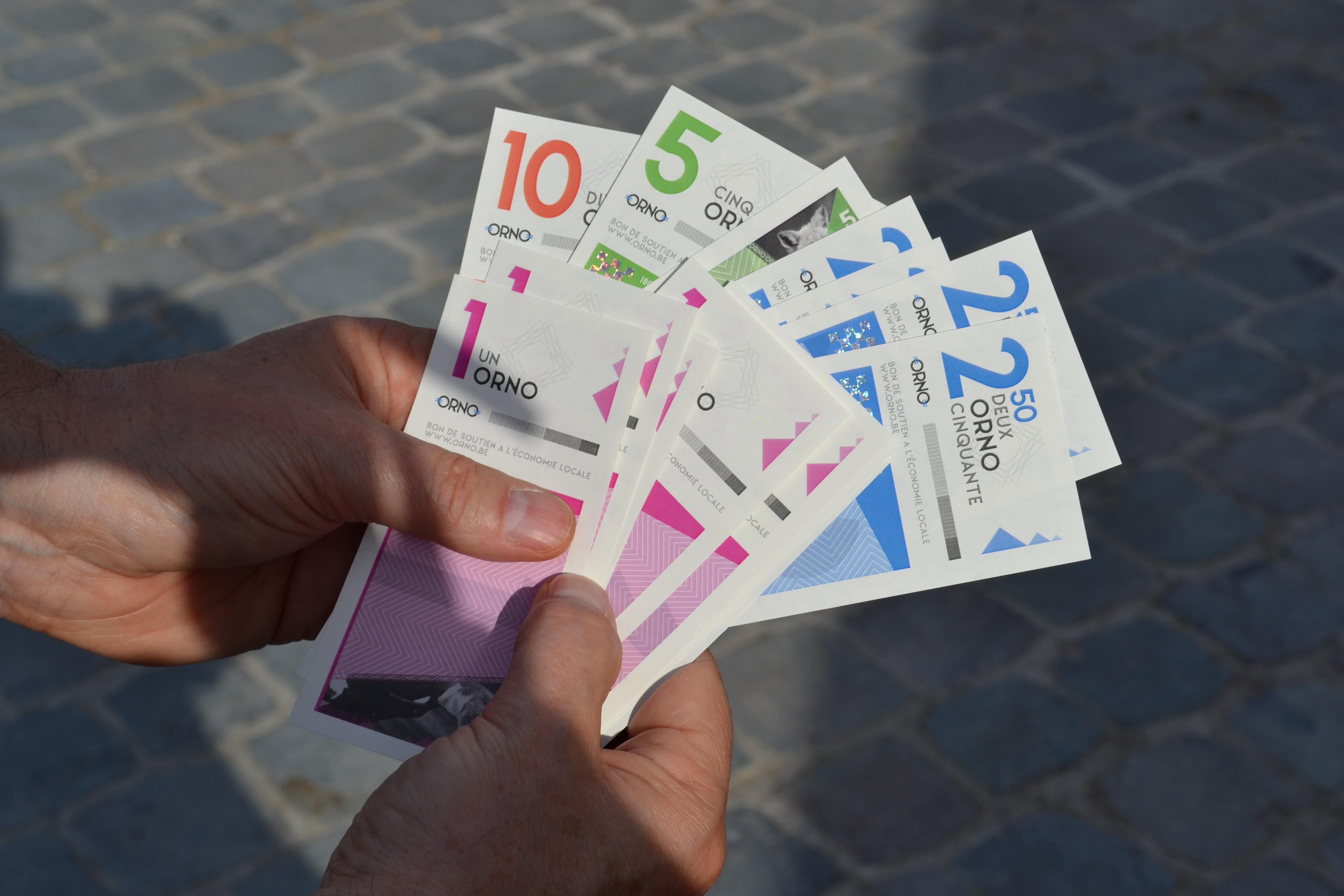 Une première en Wallonie: l'Orno, monnaie citoyenne acceptée et utilisée par les services de la Ville de Gembloux